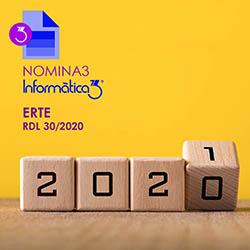 COVID-19: ERTEs pròrroga fins al gener 2021. RD 30/2020