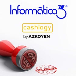 INFORMÀTICA3: Software Certificat per Cashlogy by AZKOYEN
